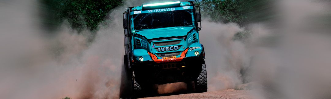 Dakar 2017: Three IVECO trucks in Top Ten in Stage 11