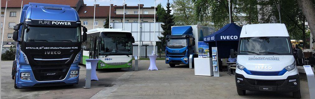 IVECO toont volledig gamma op aardgas tijdens TEN-T Days 2018 de conferentie over duurzame mobiliteit die de Europese Commissie promoot